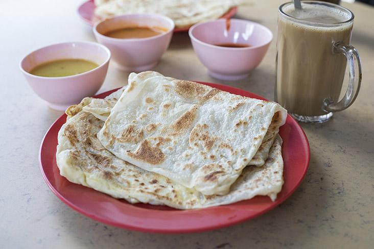 A simple yet very fine breakfast in Johor Jaya