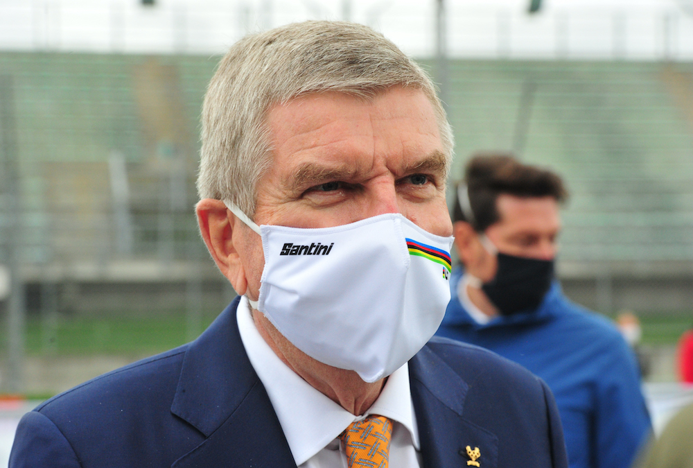 File photo of president of the International Olympic Committee Thomas Bach, September 27, 2020. ― Reuters pic