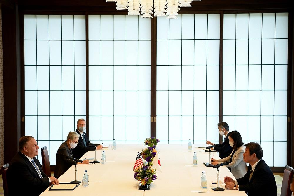US, Australia, India, Japan discuss China's growing power