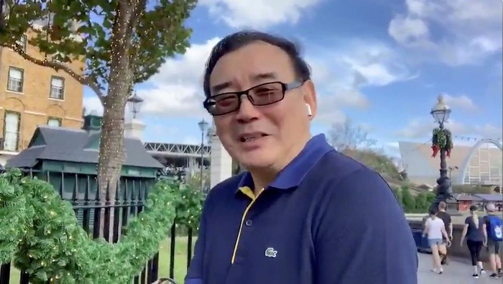 Australian writer Yang Hengjun, who is being detained by China. — Reuters pic