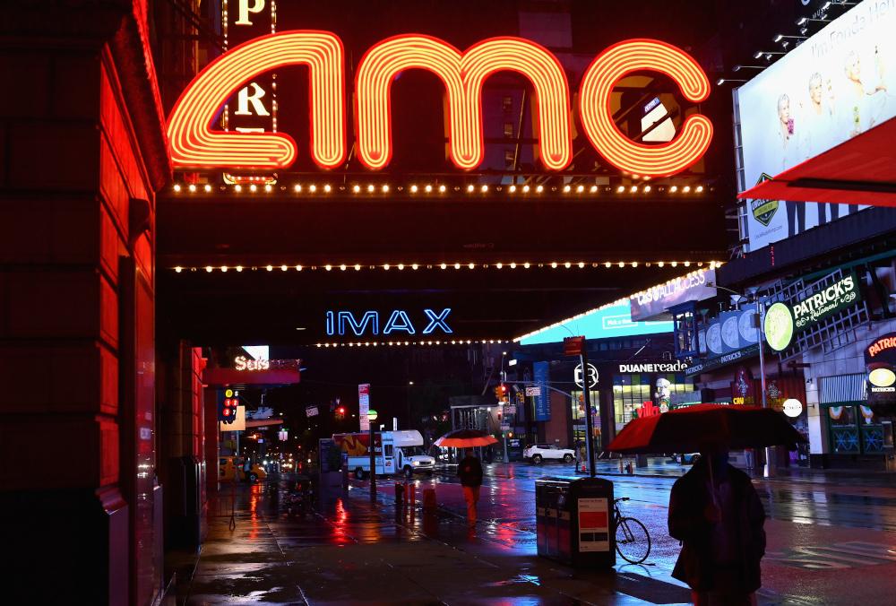 AMC gains investors, hopes to weather pandemic