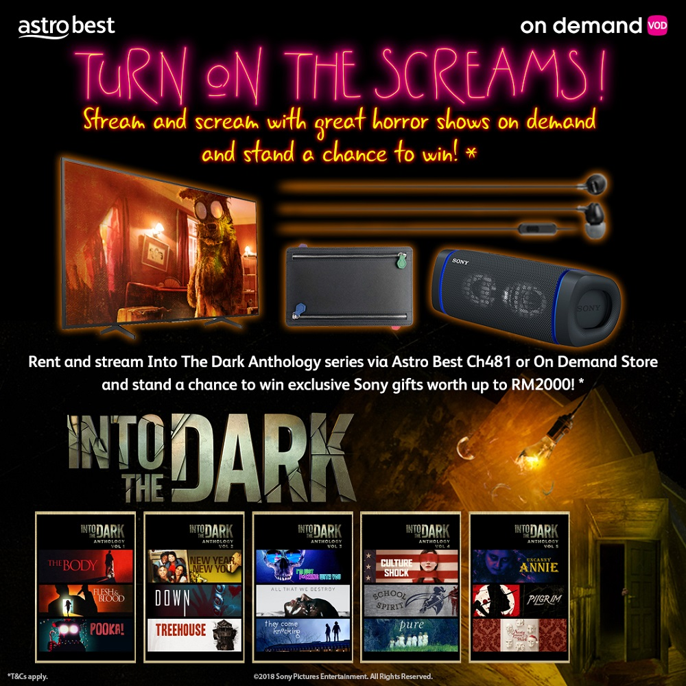 Viewers can participate in the Astro Scream and Win contest from October 23 until November 13. — Picture courtesy of Astro