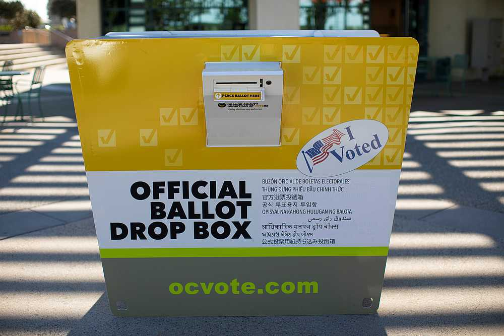 California GOP leaders refuse to remove unauthorized ballot boxes""