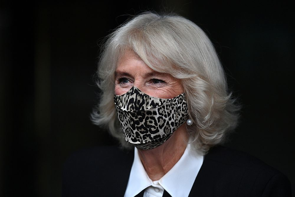 Britain's Camilla, Duchess of Cornwall, leaves the Pepper Pot Centre, a charity set up to support African and Caribbean older people, in London, Britain October 21, 2020. — Pool pic via Reuters