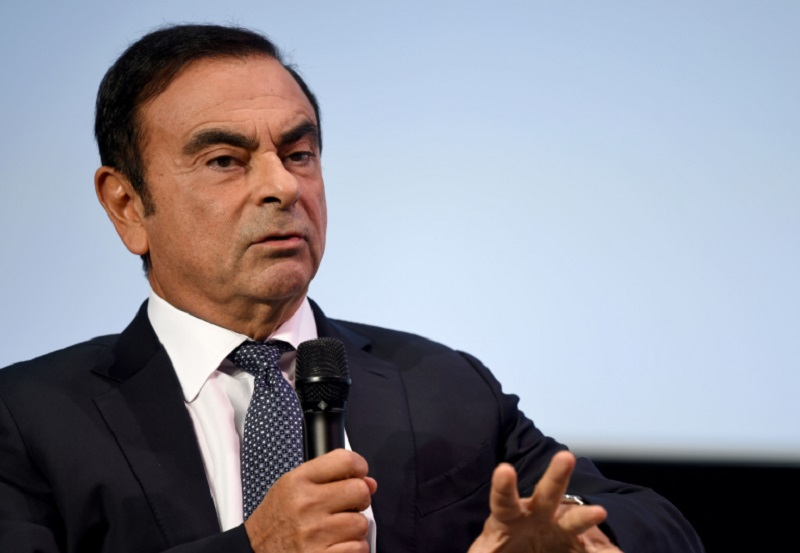 Ghosn was arrested in Japan in November 2018 on financial misconduct charges and spent 130 days in detention, before he dramatically jumped bail and smuggled himself out of the country late last year. ― AFP pic
