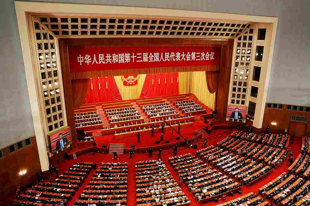 China's National People's Congress Standing Committee has voted to adopt the new biosecurity law October 17, 2020. — Reuters pic
