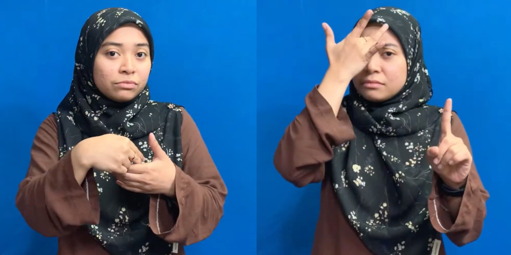 The translations cover questions concerning symptoms, travel history, participation in large gatherings, and contact tracing. — Screengrabs from YouTube/Monash University Malaysia