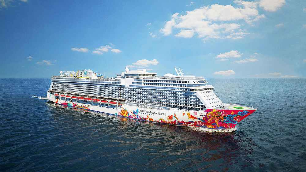 Genting Cruise Lines, Royal Caribbean International and the Singapore Tourism Board have spelt out the Covid-19 protocols amid concerns over a possible outbreak onboard the cruises. — Picture courtesy of Dream Cruises via TODAY