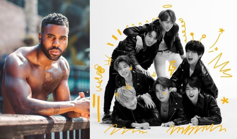Derulo has been labelled a 'clout chaser' by BTS fans for not acknowledging their role in taking 'Savage Love' to the top of the charts. — Pictures from Instagram