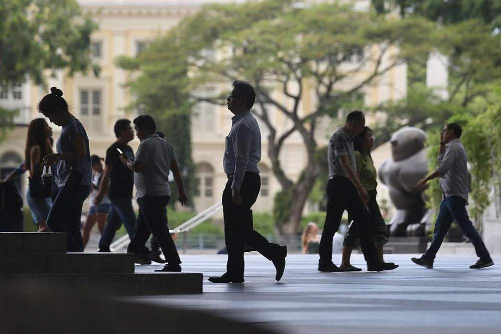 Employment is expected to improve only slightly in 2021, says the Monetary Authority of Singapore in its twice-yearly macroeconomic review. — TODAY pic
