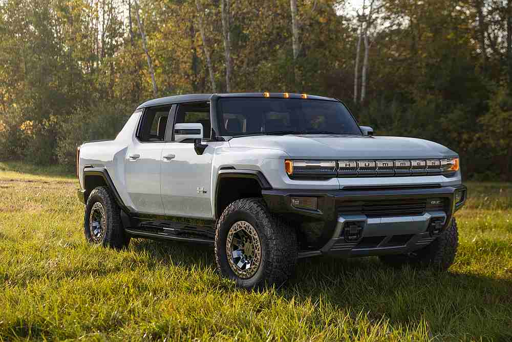 GMC is relaunching the Hummer brand with an electric pickup. — Picture courtesy of GMC via AFP