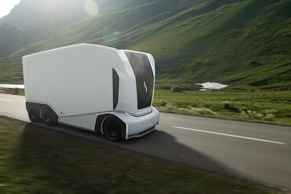 Einride has developed a new range of autonomous delivery trucks. — Poctire courtesy of Einride