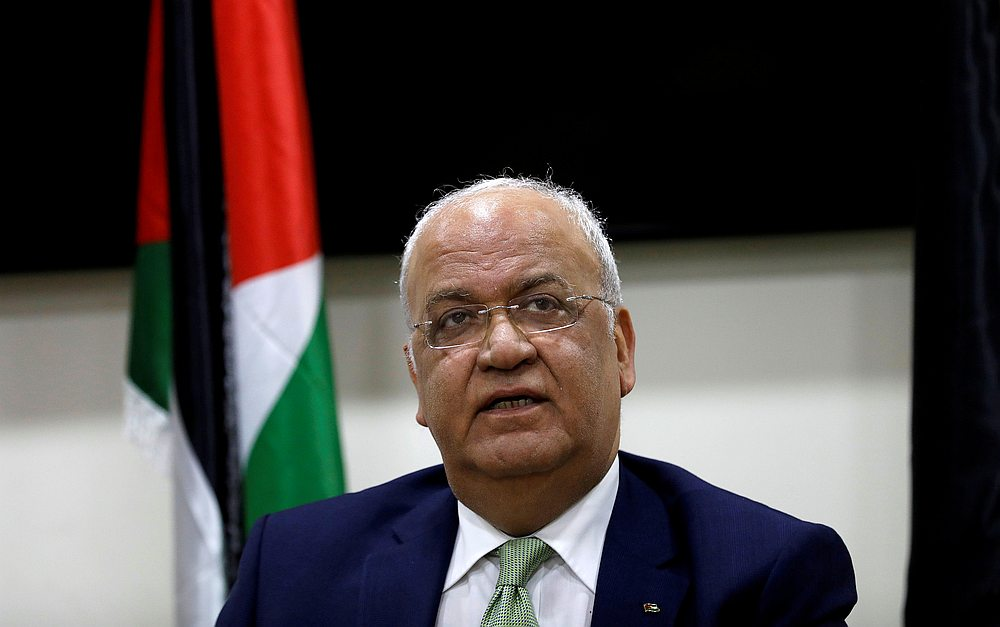 Top Palestinian Official Saeb Erekat's Coronavirus Worsens, on Ventilator in Israeli Hospital