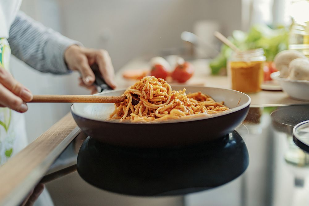 According to research, Brits and Americans are fans of long pasta like spaghetti. — PixelsEffect / IStock.com pic via AFP