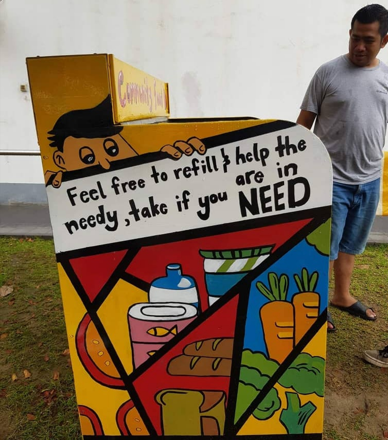Volunteers Unite aims to help the community take care of each other. — Picture courtesy of Alfred Samuel Mariyaras