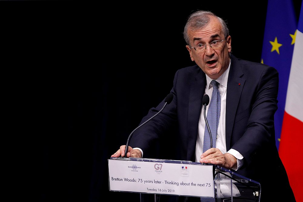 Governor of the Bank of France Francois Villeroy de Galhau said Brexit has forced Europe to develop its financial autonomy. — Reuters pic