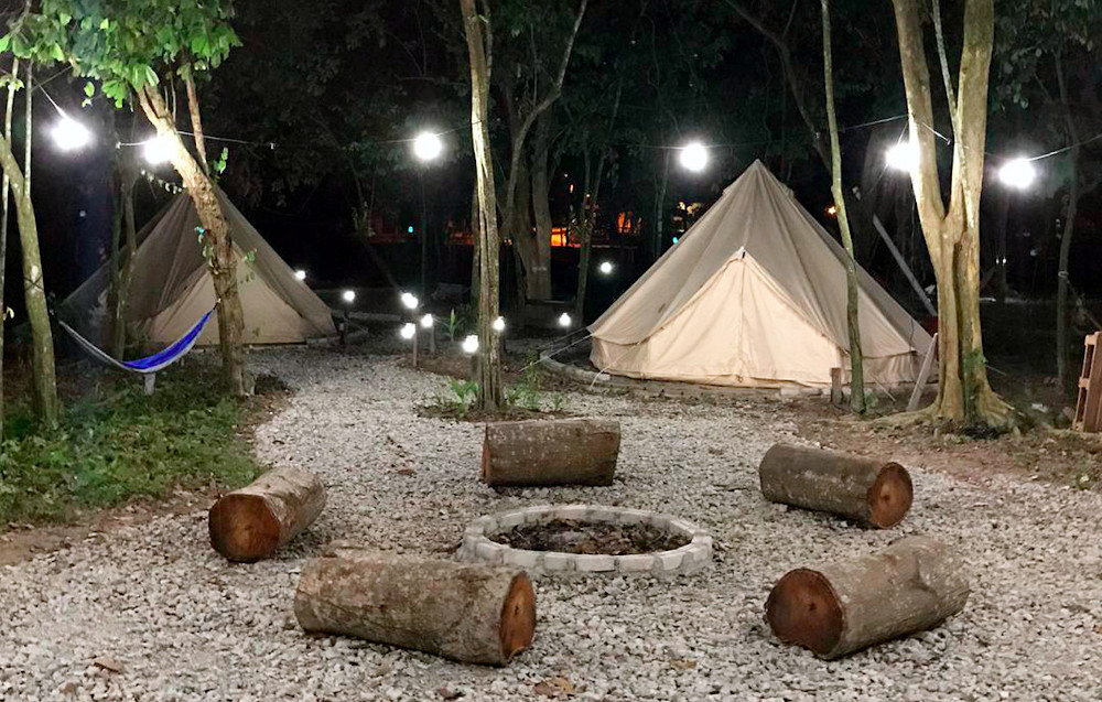 Buana Kita glamping site located in Kampung Gaing, Pedas also offers a unique camping-style holiday as well as being a new tourist attraction in Negri Sembilan. — Bernama pic