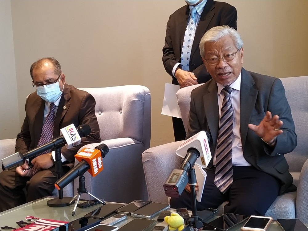 Sarawak Deputy Chief Minister Tan Sri James Masing said if the appeal is favourably considered, it would pave the way for the 12th State Election to be held as the term for the current State Legislative Assembly ends in June. ― Picture by Sulok Tawie