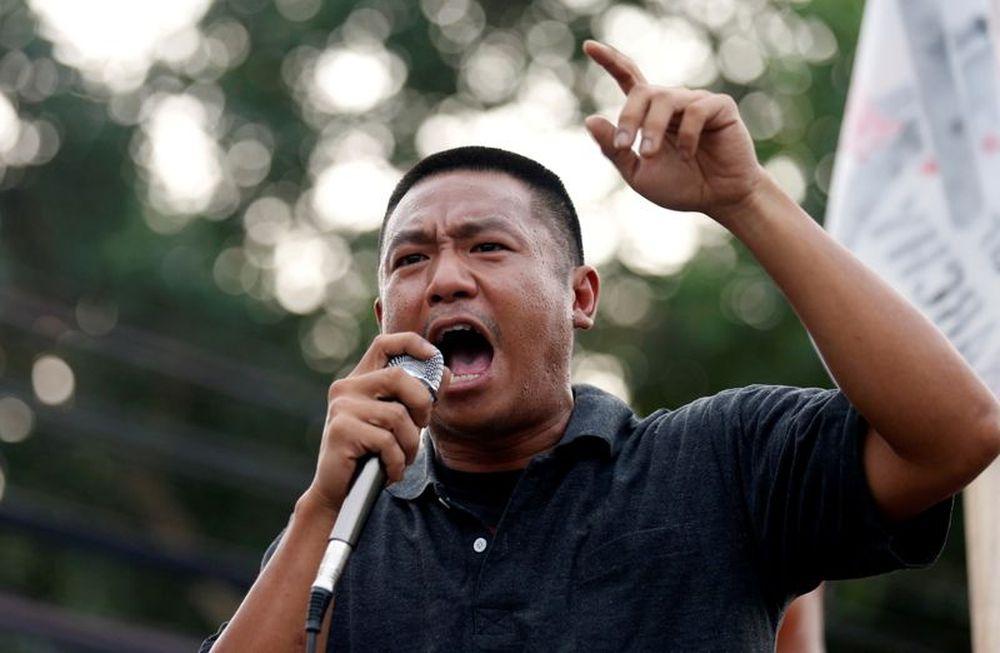 示威领袖扎督帕号召民众周日和周一再度集会抗争。-路透社-
