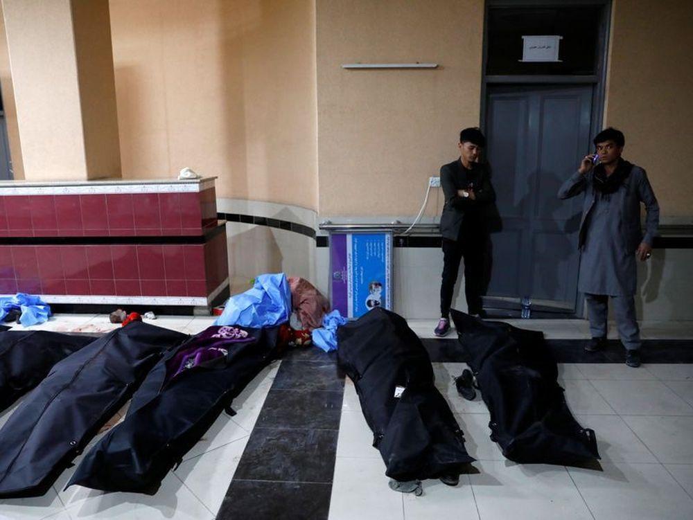 Bombing in Kabul kills ten, including children