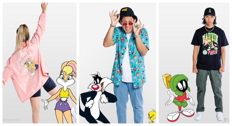 The 18-piece collection pays homage to Bugs Bunny and his friends. — Picture courtesy of Pestle & Mortar Clothing