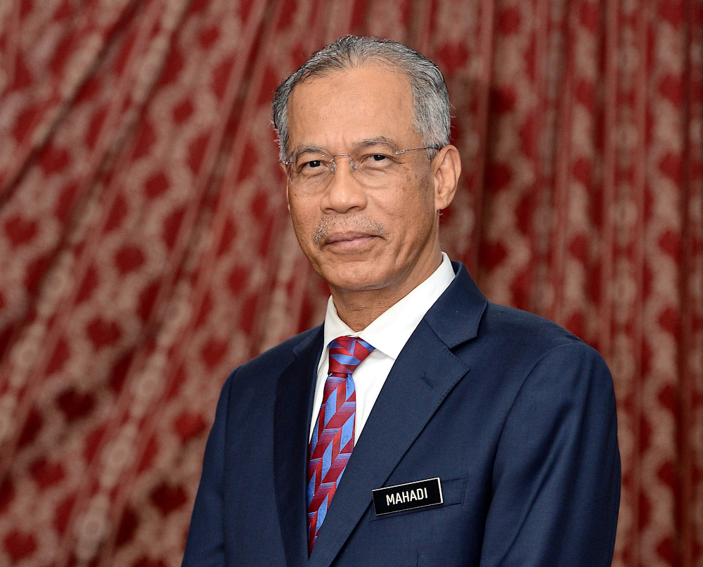 Mayor of Kuala Lumpur Datuk Mahadi Che Ngah appointed as the 13th Kuala Lumpur Mayor for a two-year period effective October 1, 2020. — Bernama pic