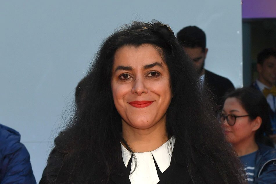 Marjane Satrapi at the 'Radioactive' premiere during the 2019 Toronto International Film Festival at Princess of Wales Theatre in Toronto, Canada September 14, 2019. — Getty Images via AFP