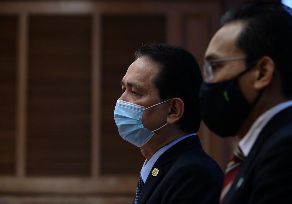 Health director-general Tan Sri Dr Noor Hisham Abdullah at the daily press briefing on Covid-19 at the Health Ministry in Putrajaya, October 28, 2020. — Bernama pic