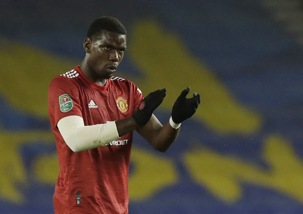 Solskjaer says Pogba could miss United's trip to Southampton on Sunday after failing to shake off an ankle injury. ― Pool via Reuters