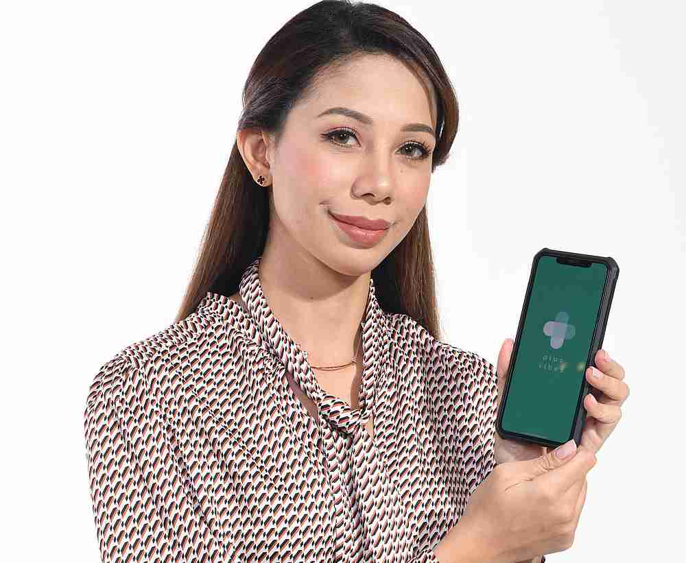 PlusVibes founder Madiha Fuad says PlusVibes has a list of trusted mental health associations and NGOs listed on its mobile application — Picture courtesy of PlusVibes
