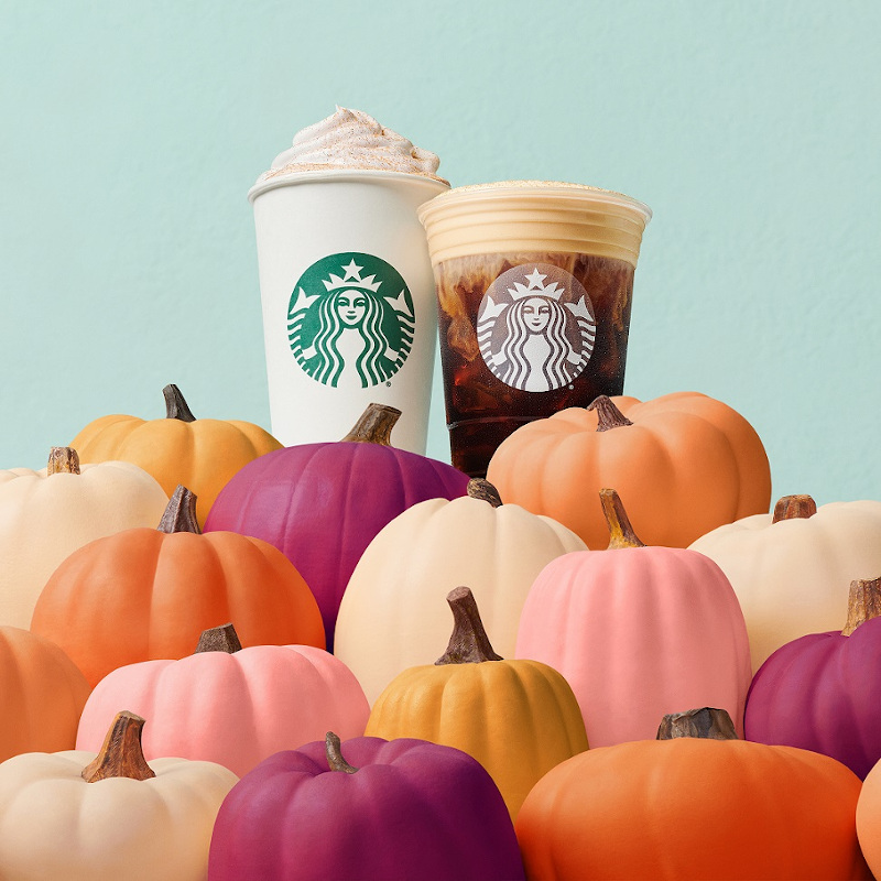 The Starbucks cult favourite Pumpkin Spice Latte will be available in stores across Malaysia starting tomorrow. — Picture courtesy of Starbucks Malaysia