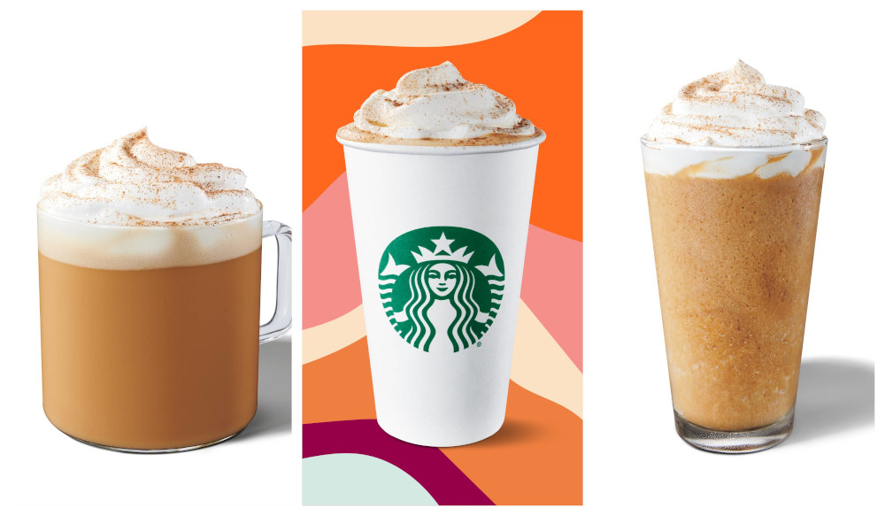 Featuring flavours of pumpkin, cinnamon, nutmeg, clove, the Pumpkin Spice Latte is available in hot, iced and Frappuccino blended versions. — Picture courtesy of Starbucks Malaysia