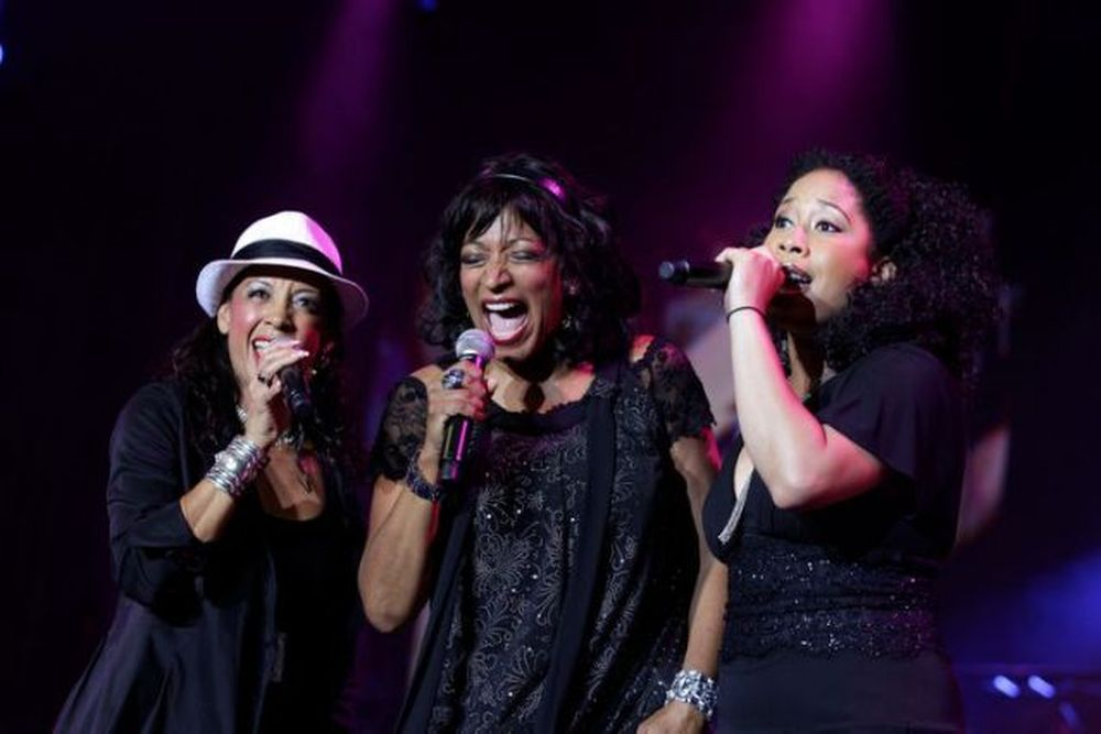 Members of Sister Sledge perform during the 10th Mawazine World Rhythms international music festival in Rabat May 24, 2011. — Reuters pic