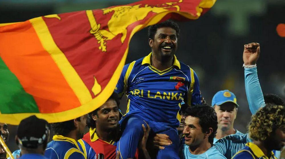Muttiah Muralitharan is a Sri Lankan hero. — AFP file pic