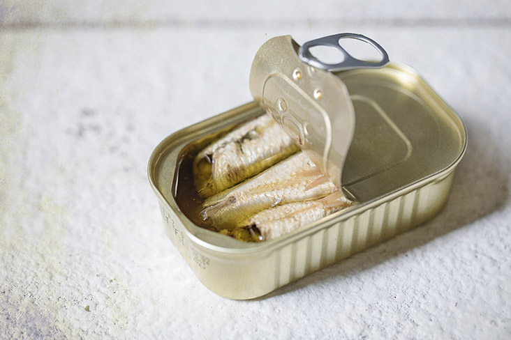 Sardines in extra virgin olive oil – a great source of good fats