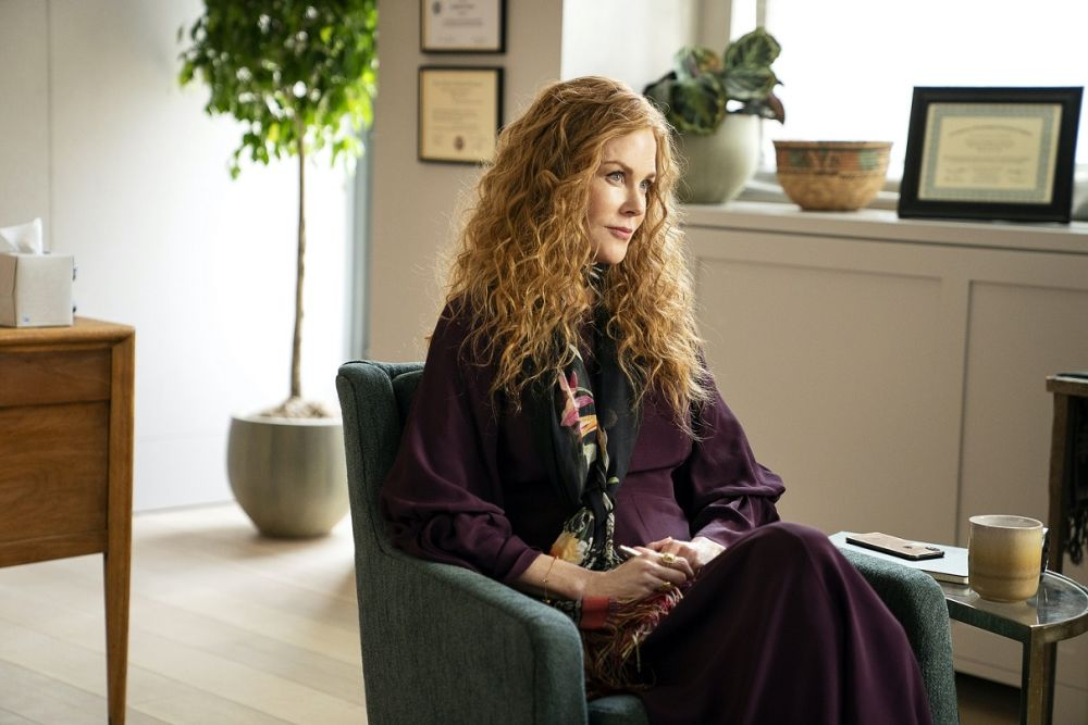The 53-year-old Oscar winner said it was a challenge to stay in the psychological state of her character Grace Fraser. – Picture courtesy of HBO