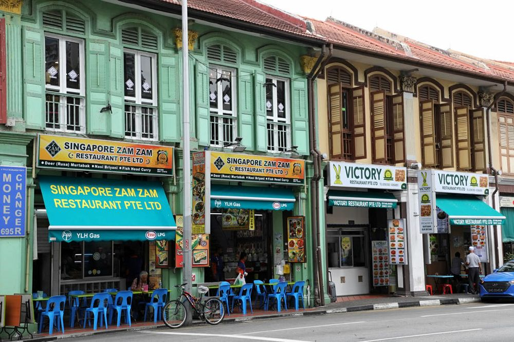 Zam Zam and Victory Restaurant, located next to each other along North Bridge Road, have been embroiled in an almost century-long rivalry. — TODAY pic