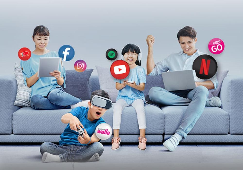 每月仅需99令吉,即可签订100Mbps家庭光纤宽频配套。-图摘自Soya Cincau-