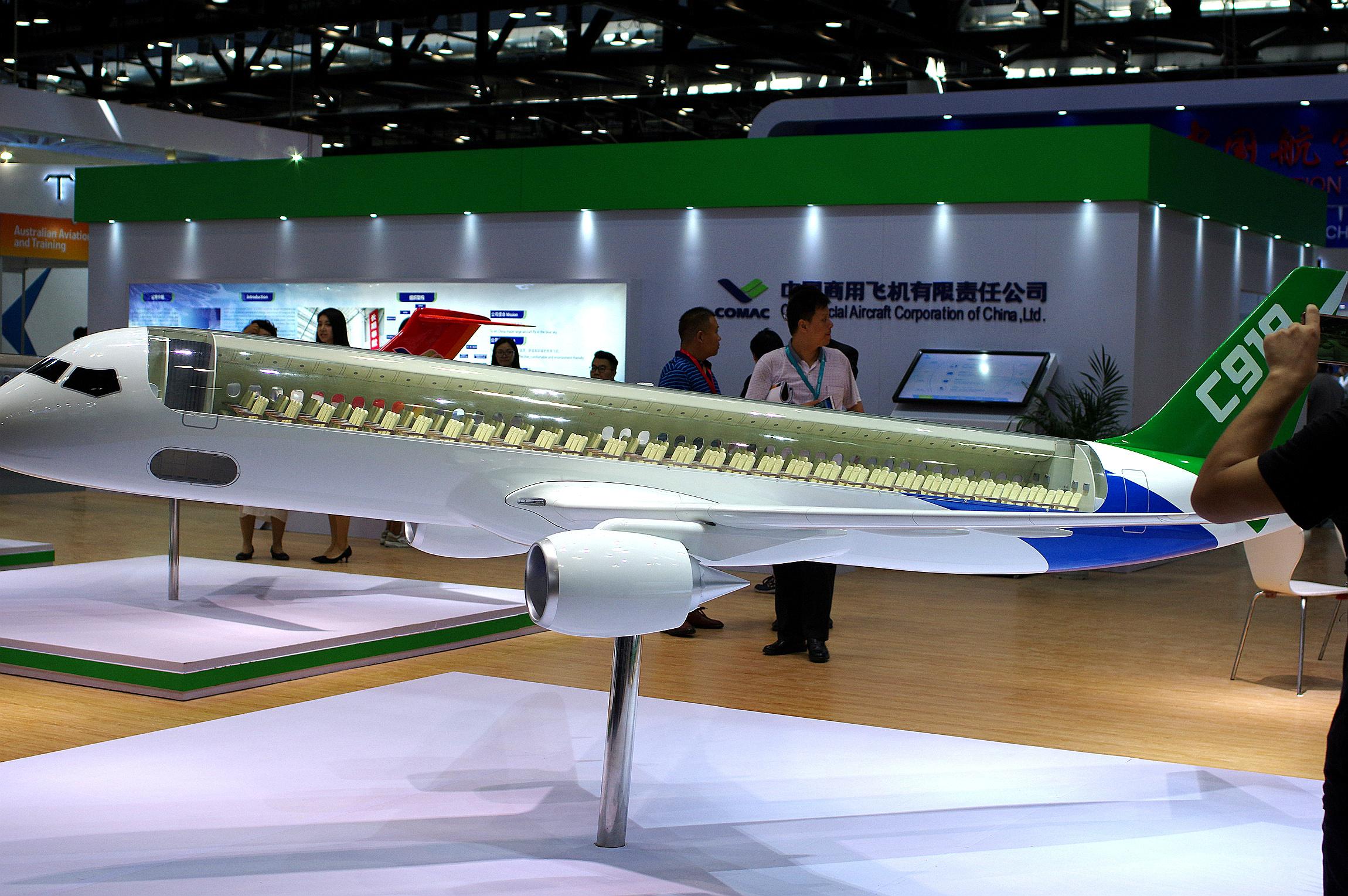 名单内的企业包括与波音及空中巴士存在竞争关系的中国商用飞机有限责任公司。-路透社-