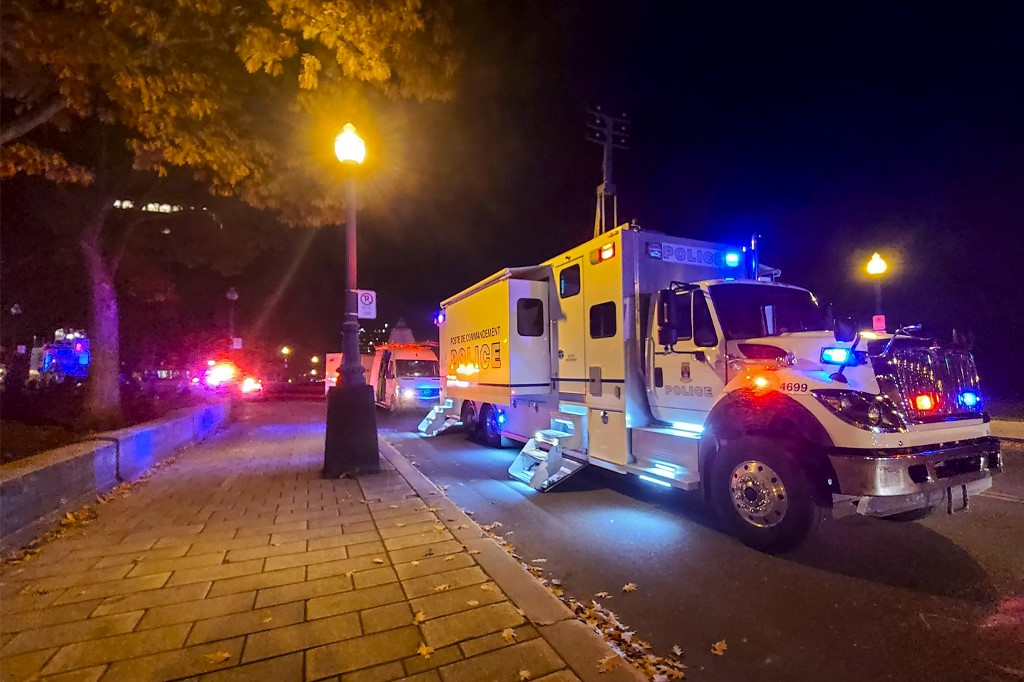 Man stabs multiple people in Canada's Quebec City