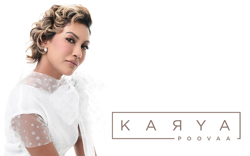 Poovaa said 'Karya' had all the makings of a great Malay single when she heard it for the first time. — Picture courtesy of Poovaa