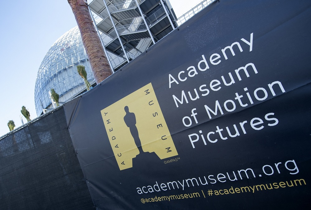 The Academy Museum of Motion Pictures in Los Angeles, California is set to open next year. — AFP pic