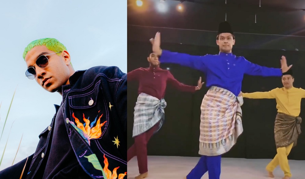 Yung Raja's latest music video fuses the modern with the traditional. — Pictures courtesy of Universal Music Malaysia