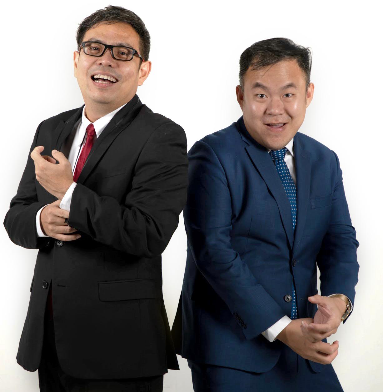 EP Marketing Malaysia's directors Alan Thoo (left) and Simon Leong (right). — Photo courtesy of EP Marketing Malaysia