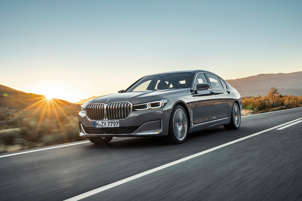 Approximately one in three BMW Series 7 models sold second-hand could have had their mileage clocked. — Picture from BMW Group via AFP-Relaxnews