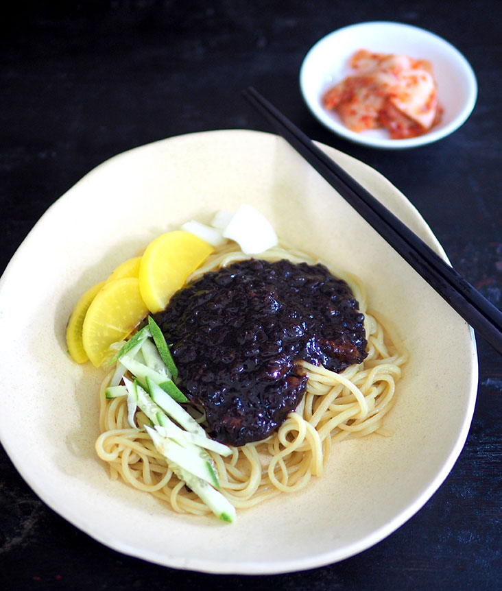 It may look #uglydelicious but this 'jajangmyeon' from Hong Kong Ban Jeom is incredibly satisfying with that black bean sauce – Pictures by Lee Khang Yi