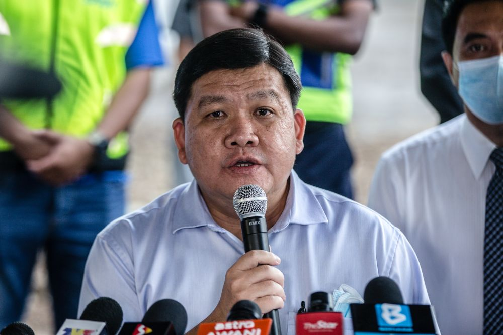 State Tourism, Environment and Green Technology, and Orang Asli Affairs Committee chairman, Hee Loy Sian said the special incentive involved an allocation of RM553,000 provided via the Selangor Economic Recovery Plan. — Picture by Firdaus Latif
