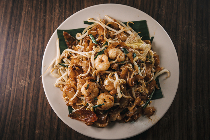 It took many tries for Robert to perfect his 'char kway teow' including tasting leftovers from customers