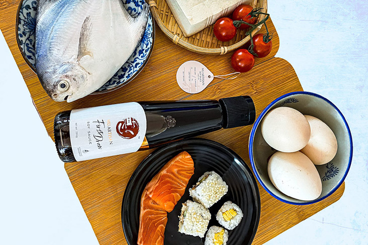 Mu Artisan Soy Sauce is a small batch producer of handcrafted, additives-free soy sauce. – Pictures courtesy of Mu Artisan Soy Sauce
