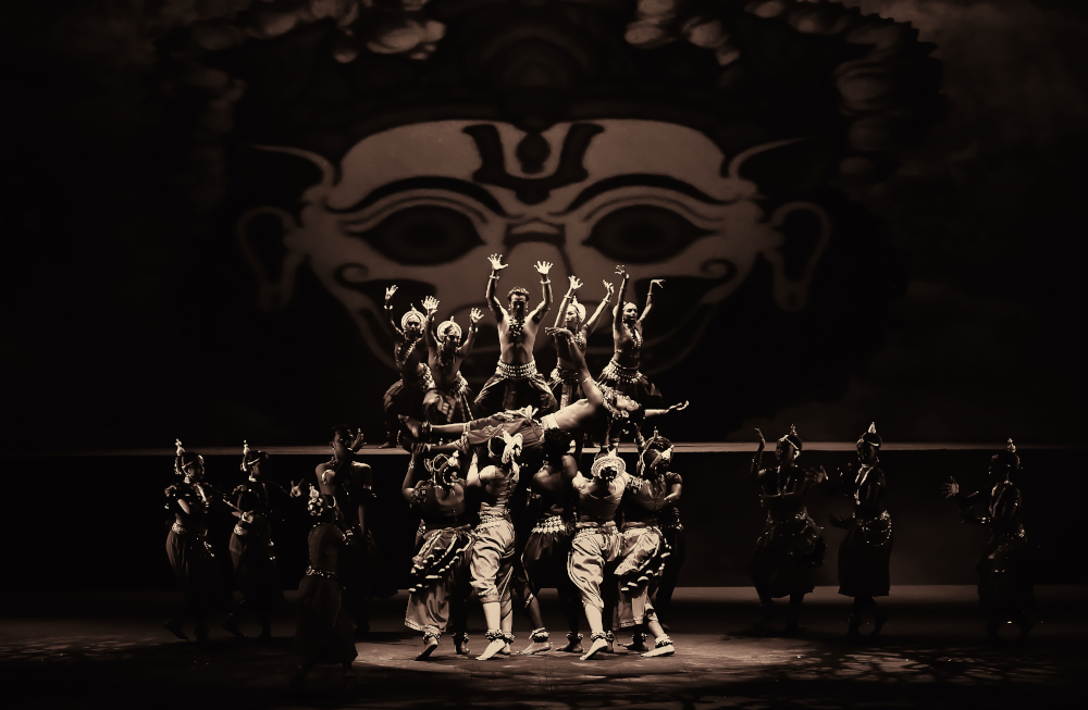 Dancers of Sutra Foundation in Ganjam, Istana Budaya 2015. — Picture by A. Prathap
